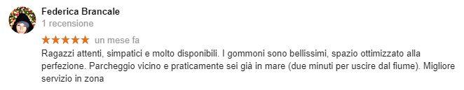 Noleggio Gommoni